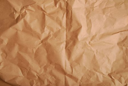 rumple: recycled paper. rumple surface texture of  package