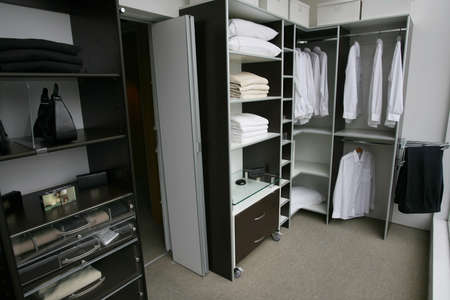 new closet for new house