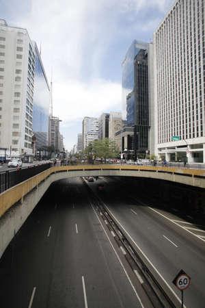 Paulista Avenue  Avenida Paulista in Portuguese photo