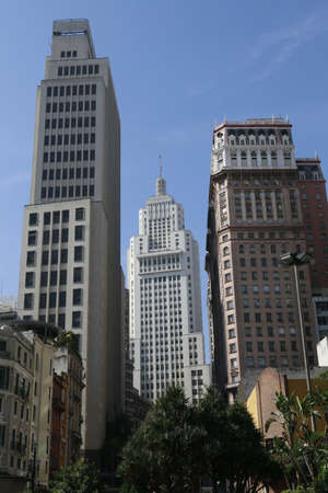 view of downtown sao paulo, brazil photo