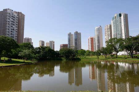 Park Flamboyant in goiania, brazil