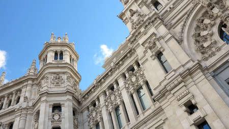 palacio de comunicaciones:  Central Post office building, Palacio de Comunicaciones, Madrid  Spain