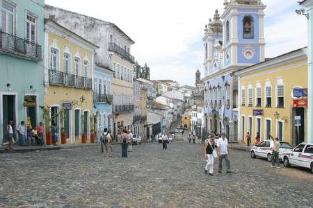 pelourinho, old downtown of sao salvador bahia