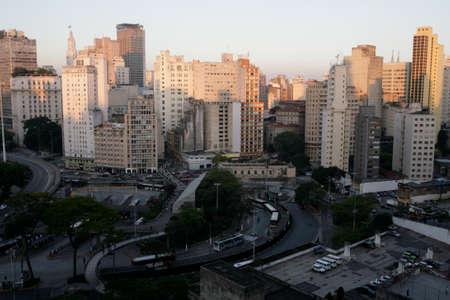 sao paulo, the most important city in brazil 免版税图像