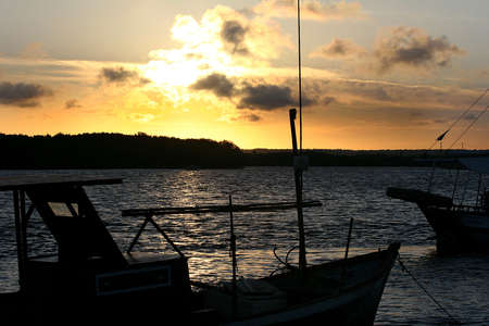 amazonas: boat in amazon river, north of brazil