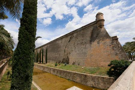 Es Baluard Fortress in Palma de Mallorca, Spain Editorial