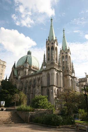 se cathedral sao paulo, brazil photo