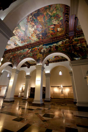 caracas: pantheon simon bolivar, caracas, venezuela