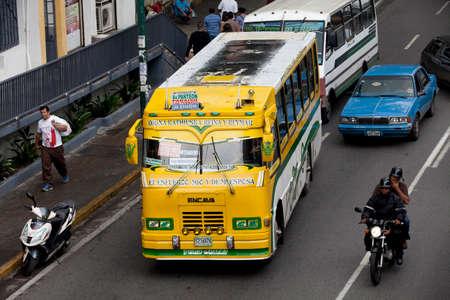 caracas: transit in downtown, caracas, venezuela