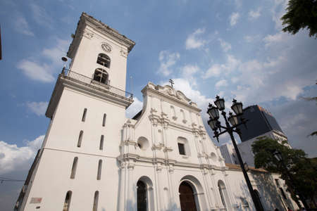 caracas: cathedral in downtown, caracas, venezuela