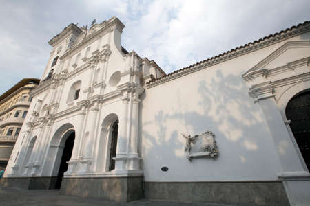 caracas: cathedral in downtown of caracas, venezuela