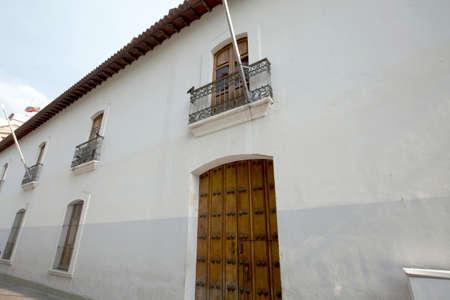colonial building: edificio colonial en el centro de Caracas, Venezuela