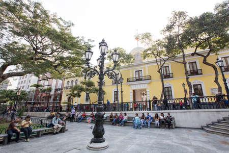 caracas: park in downtown caracas, venezuela