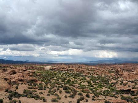 salar de uyuni: The high desert Salar de Uyuni, Bolivia