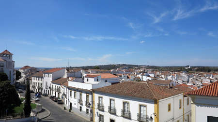 alentejo: view of evora, alentejo, portugal Editorial