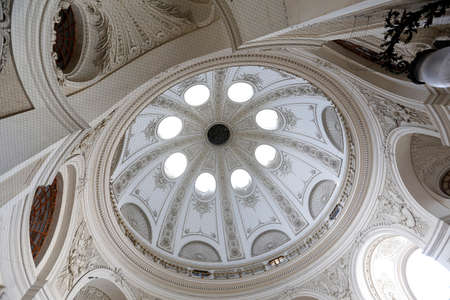 Inner part of the Hofburg`s Dome in Vienna Editorial