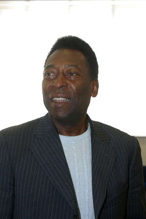 Sao Paulo, Brazil - jul 13, 2004 - brazilian soccer star, Pelé, born in 1940 as Edson Arantes do Nascimento. 版權商用圖片 - 101568960