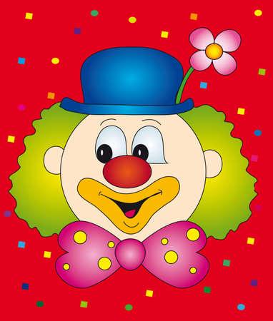 clown cirque: pitre