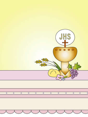 symbol victim: first communion