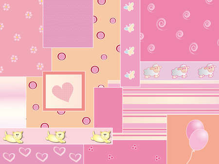 baby girl background