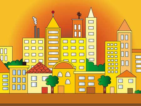city illustration illustration