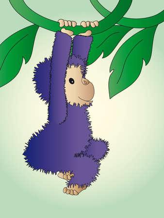 liane: monkey