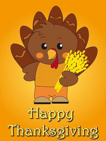 gamebird: thanksgiving card