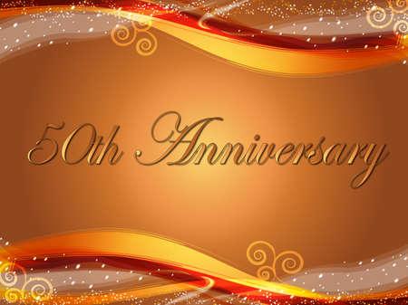 anniversario di matrimonio: 50 � anniversario
