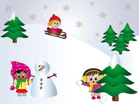 snoflake: winter sports Stock Photo
