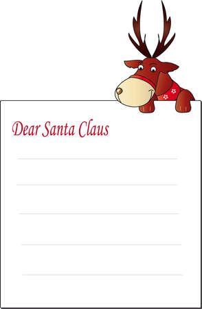 letter to santa claus photo
