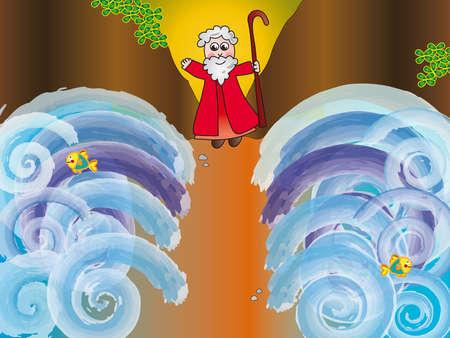historias biblicas: Moisés