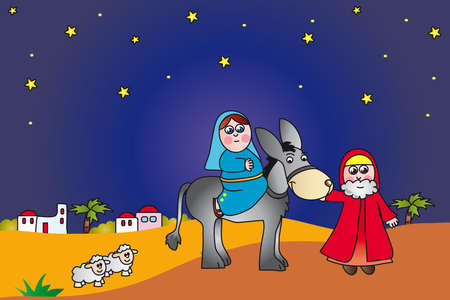 night before christmas: nativity