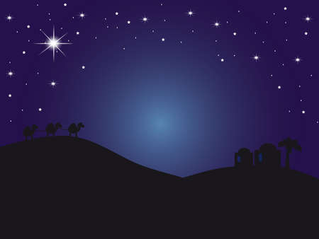 christmas religious: bethlehem background