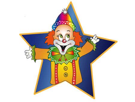 joker face: clown