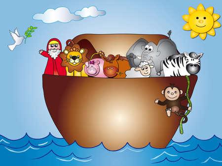 flying pig: ark noah
