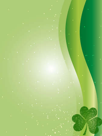 four leafed: saint patrick day Stock Photo