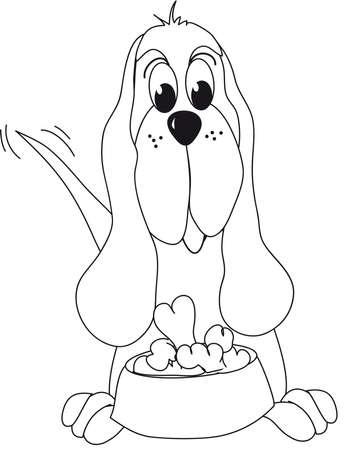 dog ear: dog