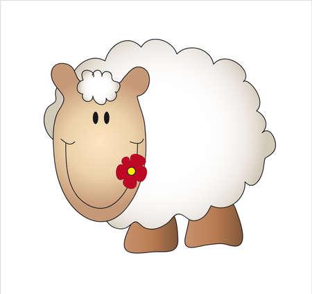 ewe: sheep  Stock Photo