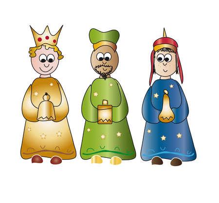 rois mages: rois Banque d'images