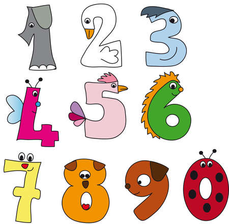 numbers Stock Photo - 15203032