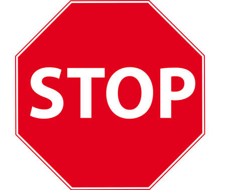 miles: stop sign