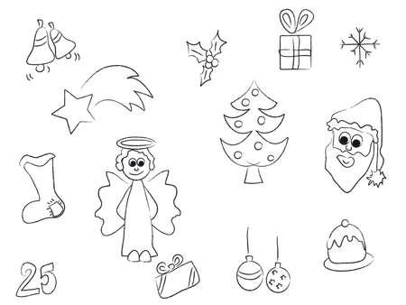 christmas symbols Stock Photo - 15147430