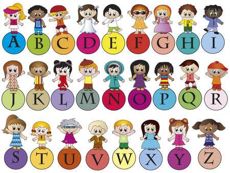 language learning: alphabet