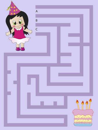 maze puzzle: maze