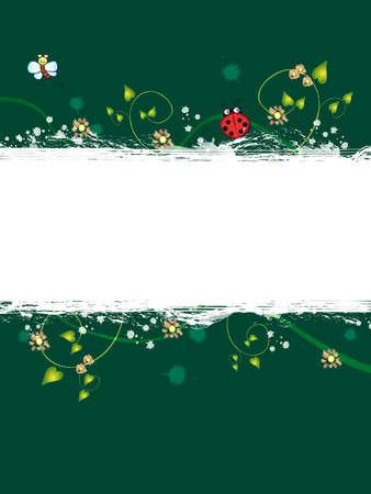 spring banner Stock Photo - 15790091