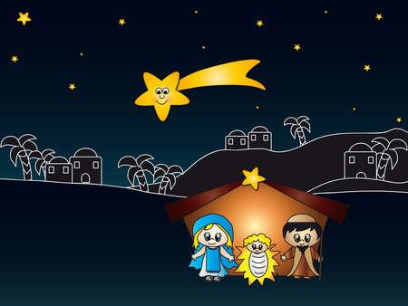 christ is born: nativity
