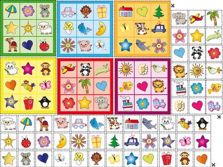 bingo: juego para niños