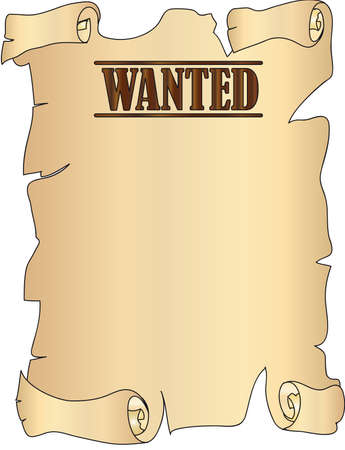 ruffian: wanted Stock Photo