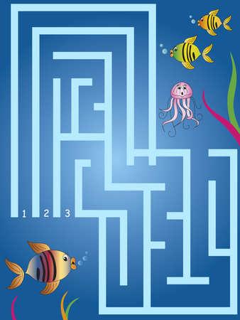 brain game: maze