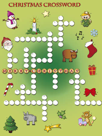 crossword: christmas crossword